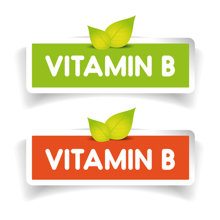 Vitamin B label set