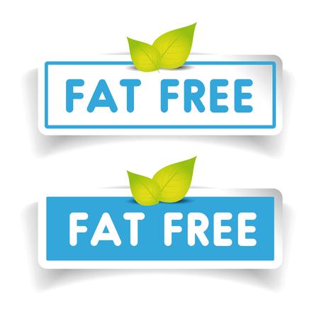 Fat free label vector set