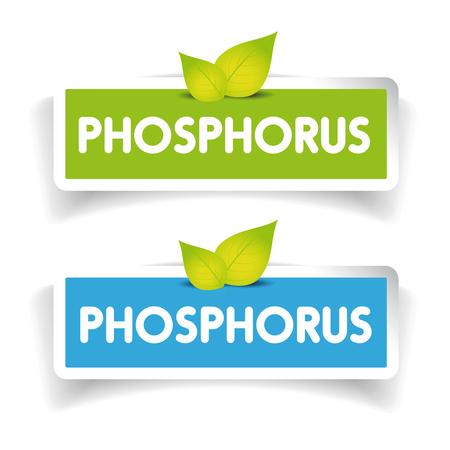 phosphorus: Phosphorus label vector set