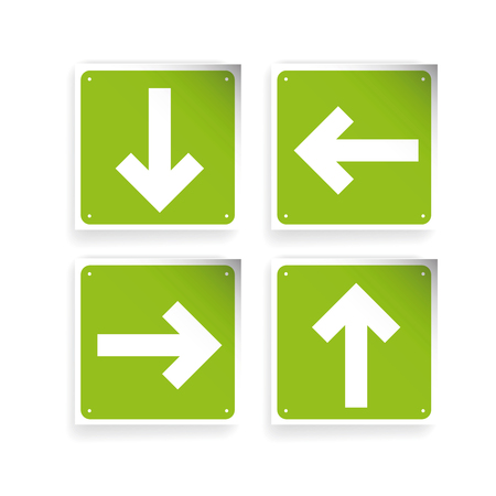 left right: Left Right Up Down Arrows button