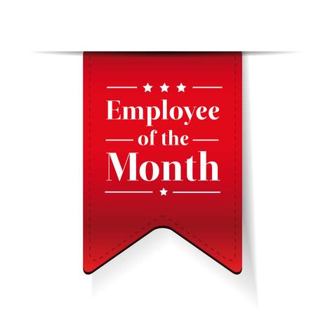 Werknemer van de Maand award lint