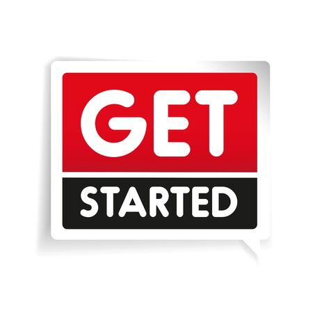 Erste Schritte label vector