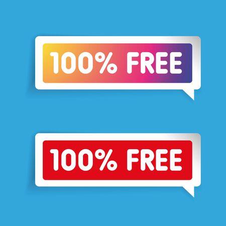 freebie: 100 percent free label Illustration