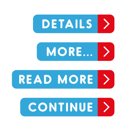 details: Call to action button set - Details, More, Read more, Continue