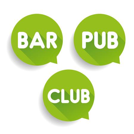 winetasting: Bar Club Pub pointer vector