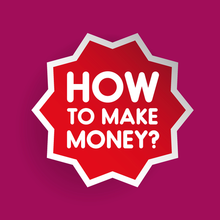 How to make money sign vector