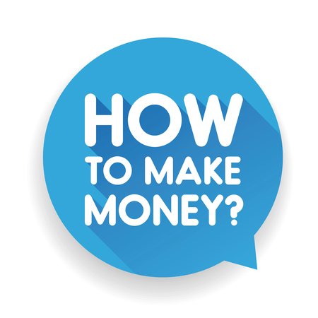 predicting: How to make money sign vector