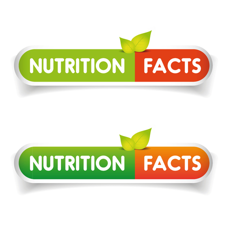grams: Nutrition facts label