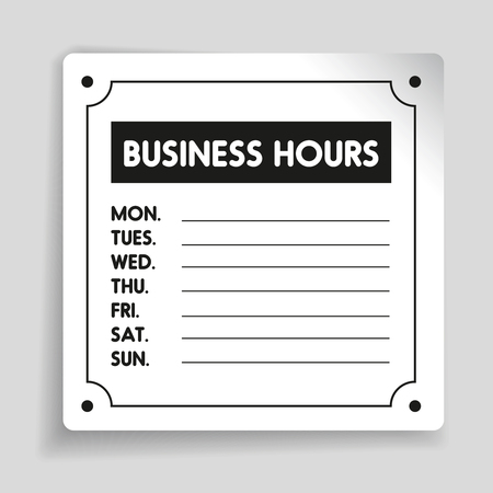 Business hours sign vector template royalty free cliparts vectors business hours sign vector template stock vector 58684641 fbccfo Gallery
