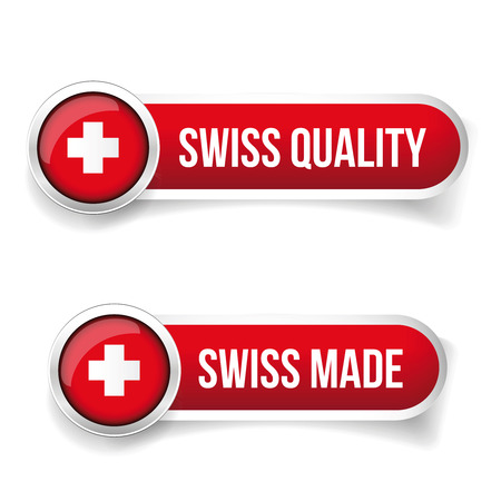 Made in Switzerland. Swiss made