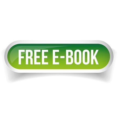 Free e-book button vector