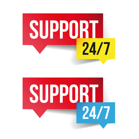 hrs: Support and help 24 hours a day and 7 days a week