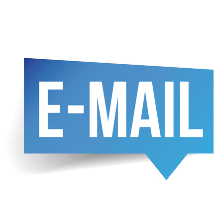 adwords: Email label speech bubble