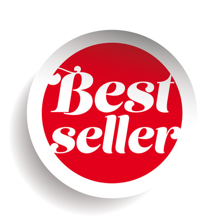 seller: Best Seller sticker vector Illustration