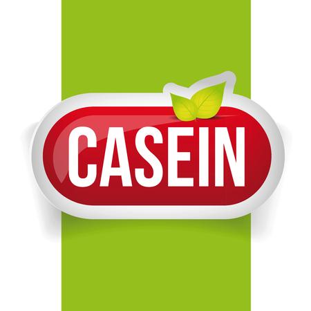supplement: Casein button or pill - Fitness supplement
