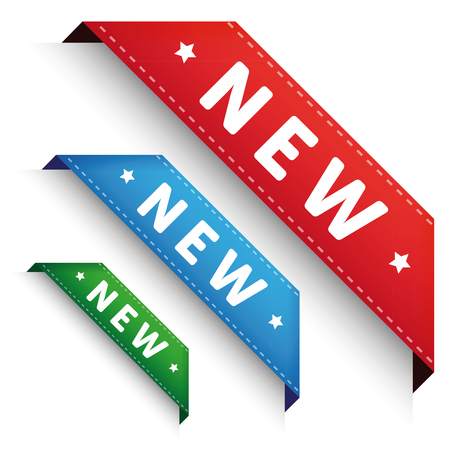 new corner: New Corner banner - Corner ribbon set
