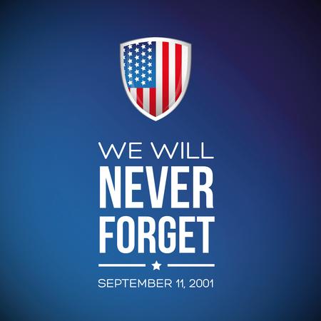 september: Patriot Day - September 11, 2001
