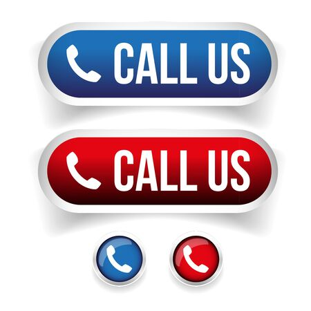 torrent: Call us - Phone icon vector button