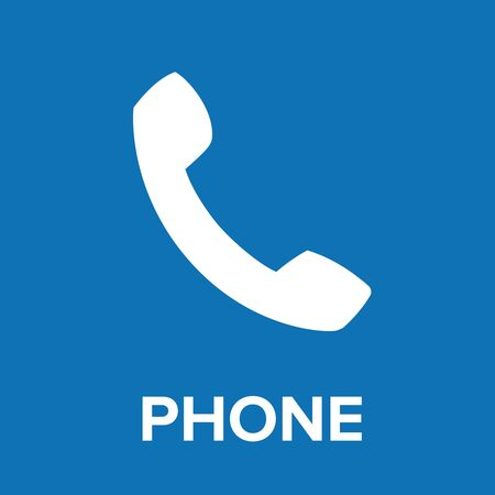 torrent: Phone icon vector blue