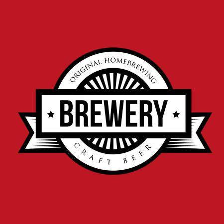 brewery: Brewery vintage  vector