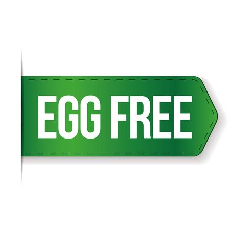 gamme de produit: Egg signe vecteur libre
