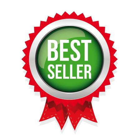 seller: Best Seller badge vector