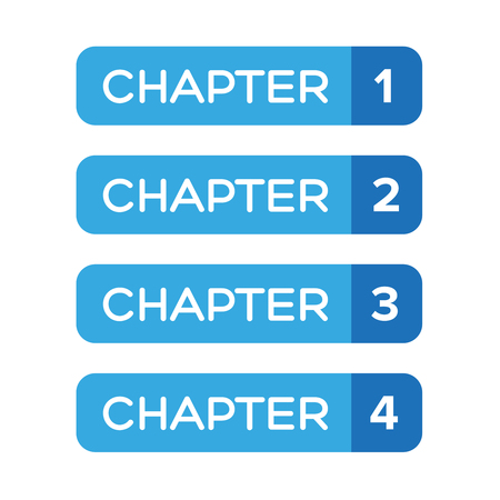 Chapter One, Two, Three, Four vecteur