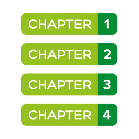 Chapter One, Two, Three, Four vecteur Vecteurs