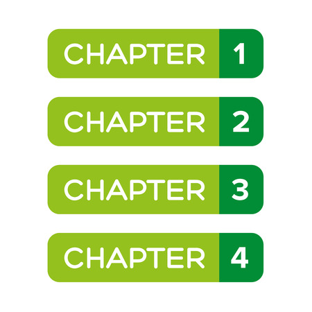 chapter: Chapter One, Two, Three, Four vector