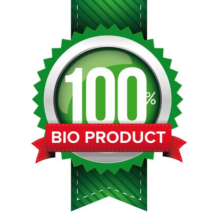 onlineshop: Hundred percent bio product green ribbon