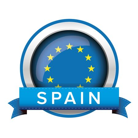 eu: EU flag button with Germany ribbon