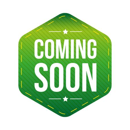 Coming Soon patch vector Reklamní fotografie - 69507312
