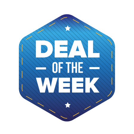 Deal of the Week vector