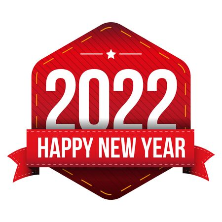 happy new year: Happy New Year 2022 vector Illustration