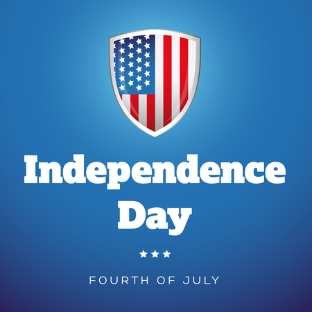 fourth of july: Independence Day USA - Fourth of July Illustration