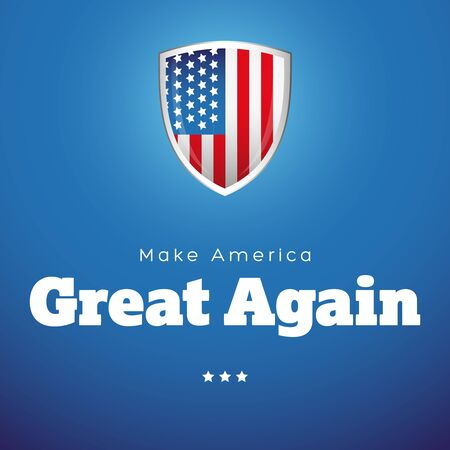 great: Make America Great Again vector banner