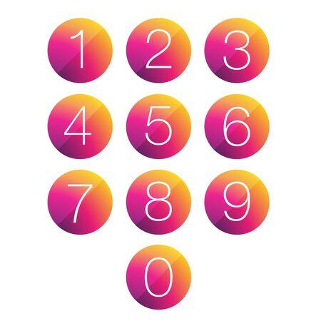5.0: Number set circle
