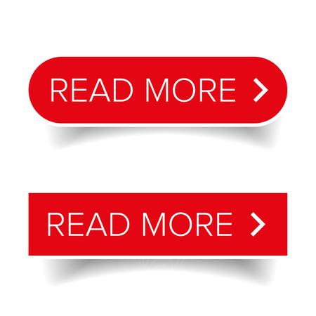 Lire plus de vecteur de bouton