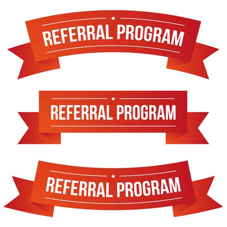 Conjunto de fitas do programa de referência