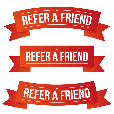 Refer a Friend ribbon