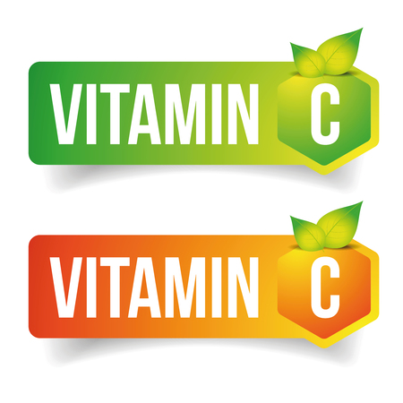 Vitamin C label vector tag
