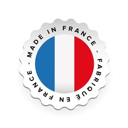 Made in France - French language Fabrique en France Stock Photo