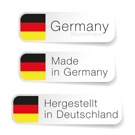 Made in Germany label with German translation