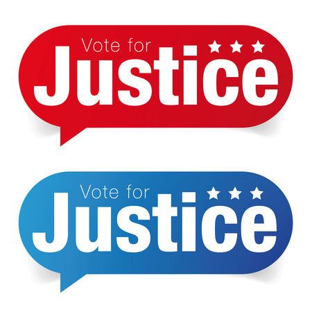 Vote for Justice label