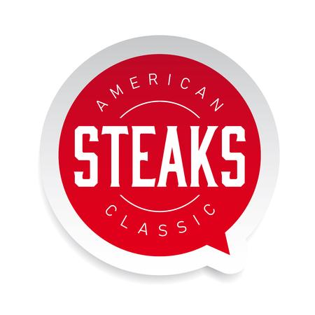 American Classic Steaks vintage