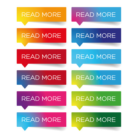 Read More colorful label set vector