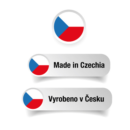 Made in Czechia label