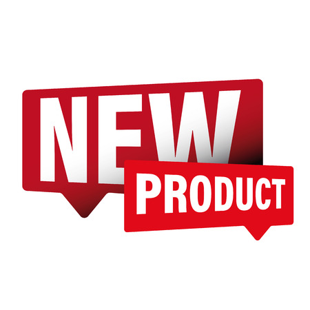 New Product label sign vector