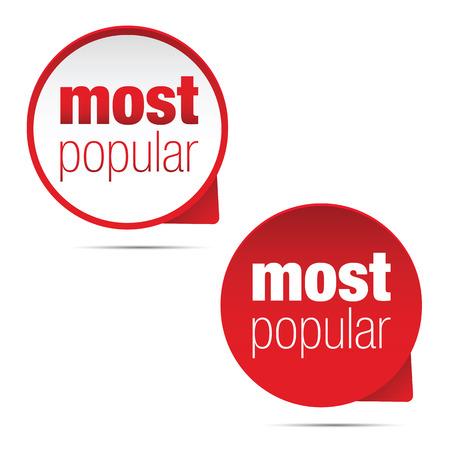 Most Popular label sign vector Vektorgrafik