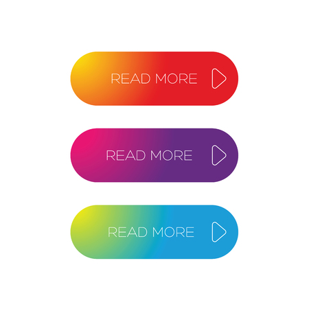 Read more web button call to action Ilustrace